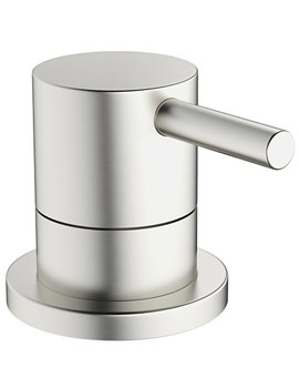 Related Crosswater Mike Pro Deck Mounted Brushed Stainless Steel Bath 3 Way Diverter