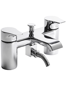 Blaze Deck Mounted Bath Shower Mixer Tap With Kit - TBL42