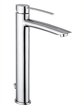 Bella Extended Mono Basin Mixer Tap Chrome - 42075