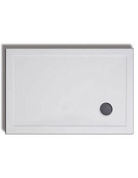 Lakes Low Profile 1700 x 700mm ABS Stone Resin Tray With Waste