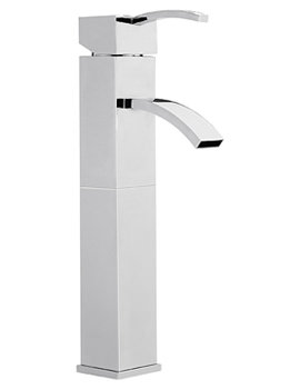 Related Sagittarius Arke Extended Monobloc Basin Mixer Tap With Sprung Waste