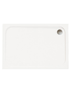 Mstone 1700 x 800mm Rectangular Shower Tray With Waste - D178RT