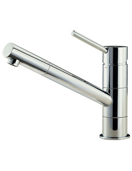 Anzio Lever Chrome Mono Sink Mixer Tap - 27110
