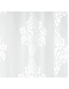 Croydex Baroque PEVA Vinyl Shower Curtain - AE286622