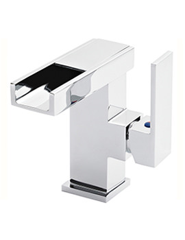 Related Beo Blade Mini Open Spout LED Side Lever Basin Mixer Tap