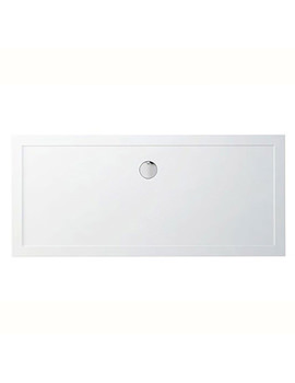 Britton Zamori 1800 x 800mm Rectangle Shower Tray - Z1343