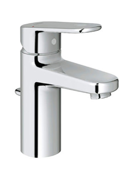 Related Grohe Europlus Basin Mixer Tap With Pop Up Waste - 32 612 20L