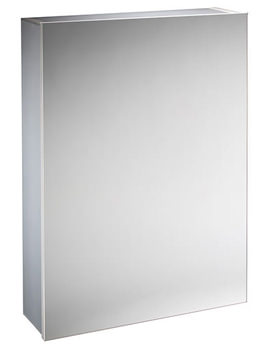 Balance 440mm Single Door Mirror Cabinet - BA44AL
