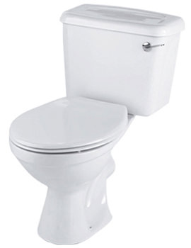 Option Close Coupled WC Pan With Lever Cistern 680mm