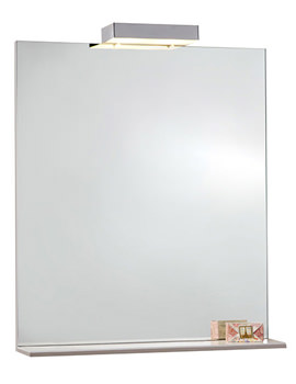 1000mm Mirror With Shelf And Lights - FM100ML