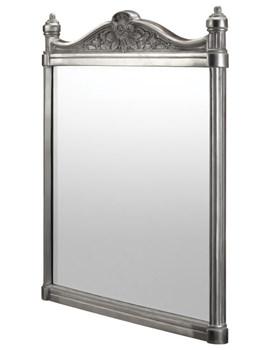 Burlington Georgian Mirror With Polished Aluminium Frame - T37 ALU