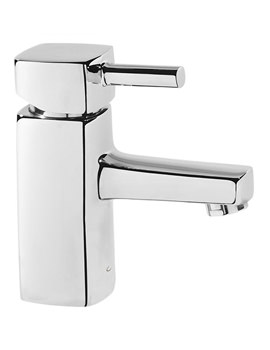 Logic Basin Mixer Tap With Click Waste - TLG11