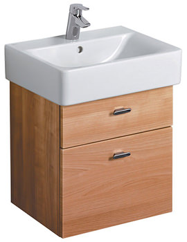 Ideal Standard Concept Cube 450mm Wall Hung 2 Drawer Basin Unit