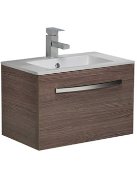 Swift 600mm Montana Gloss Wall Mounted Unit Including Basin