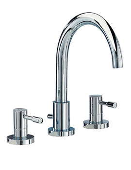 F-Series 3 Hole Basin Tap Set - SFL049