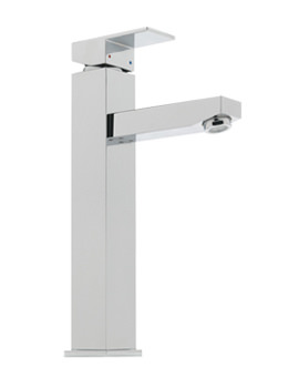 Edge Extended Mono Basin Mixer Tap Chrome - 22360