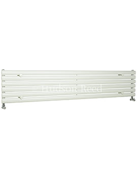 Revive 1500 x 354mm White Single Panel Horizontal Radiator