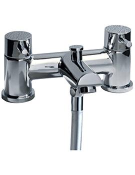 Storm Deck Mounted Bath Shower Mixer Tap-Handset - T224202