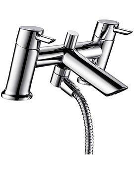 Related Bristan Acute Bath Shower Mixer Tap With Kit - AE BSM C