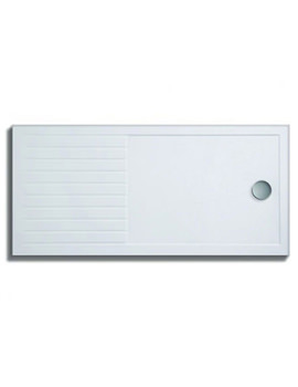 Lakes Low Profile ABS Tray 1400 x 900mm With Rectangular Drying Area