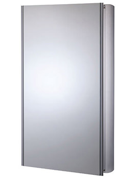 Ascension Limit Slimline Bathroom Cabinet 450mm - AS415ALSLP