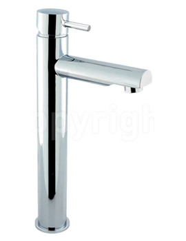 Crosswater Kai Lever Monobloc Fixed Spout Tall Basin Mixer Tap