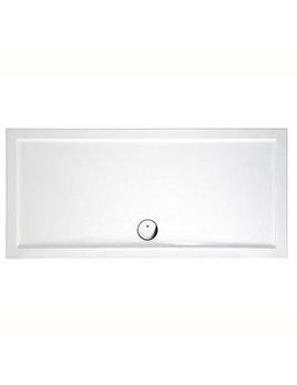 Britton Zamori 1700 x 700mm White Rectangular Shower Tray - Z1183