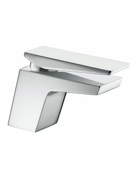 Sail Chrome Basin Mixer Tap With Clicker Waste - SAI BAS C