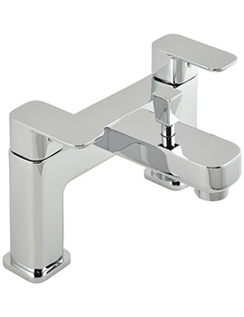 Phase Deck Mounted 2 Hole Bath Shower Mixer Tap - PHA-130