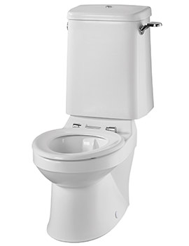 Sola School Rimless 350 Close Coupled WC Pan - SA1514WH