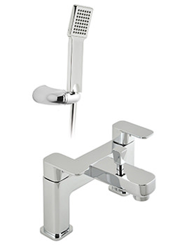 Phase 2 Hole Bath Shower Mixer Tap With Shower Kit