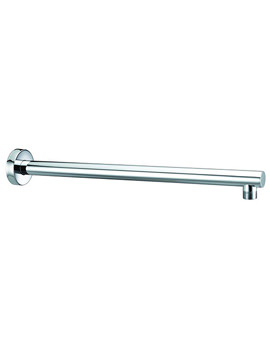bristan wall mounted round shower arm chrome