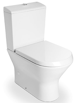 Nexo White Close Coupled WC Pan 665mm - 342640000