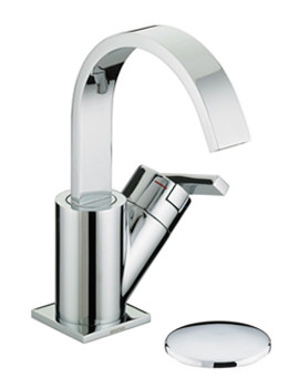 Related Heritage Astley 1 Taphole Basin Mixer Tap With Clicker Waste
