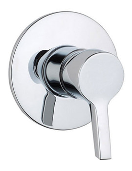 Slope Built-in Shower Mixer Valve Chrome - A40465VUK