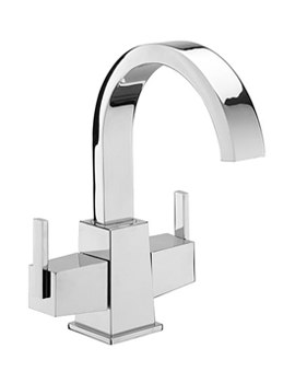 Mr Darcy Mono Basin Mixer Tap With Click Clack Waste