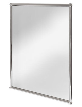 Rectangular Mirror With Chrome Frame - A11 CHR
