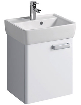 Twyford Galerie Plan Underbasin Furniture Unit And Washbasin 500mm