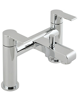 Ion Deck Mounted 2 Hole Bath Shower Mixer Tap - ION-130