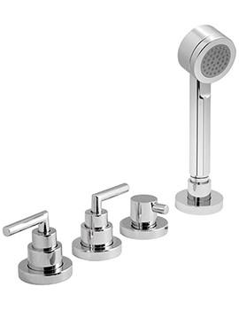 Elements Air 4 Hole Bath Shower Mixer Without Spout - ELA-135-NS