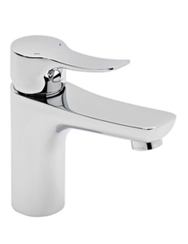 Tavistock Voice Deck Mounted Basin Mixer Tap With Click Waste - TVC11