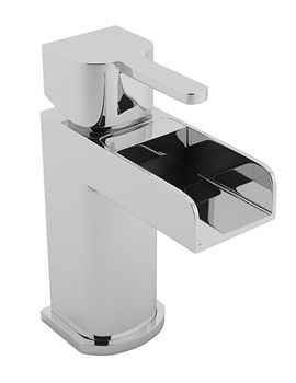 Beo Cascade Chrome Plated Open Spout Mono Basin Mixer Tap