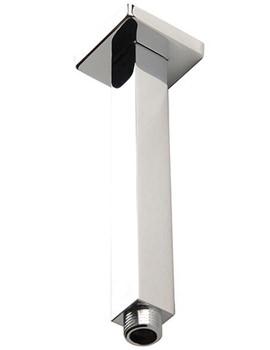 Related Mayfair Kubo 180mm Ceiling Mounted Chrome Shower Arm - KUB290