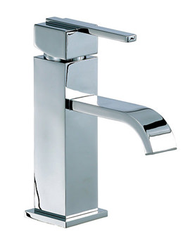 Ice Fall Lever Head Mono Basin Mixer Tap Chrome - IFL009