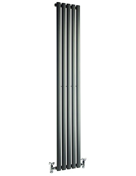 Cove 531 x 1800mm Single Sided Vertical Radiator Anthracite
