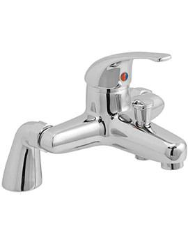Matrix Exposed Pillar Mounted Bath Shower Mixer Tap - MAT-131