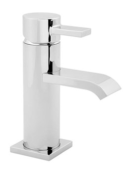 Linx Mono Basin Mixer Tap With Press Top Waste - LINX113