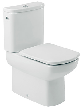 Roca Senso ECO Compact Close Coupled WC Pan 600mm - 34251S000