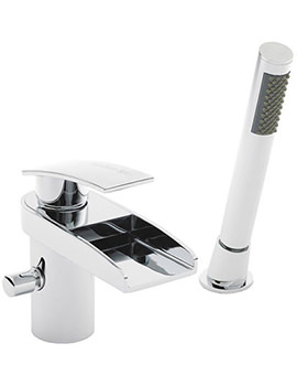 Hudson Reed Rhyme Bath Shower Mixer With Shower Kit - RHY304