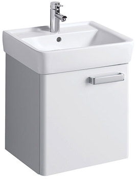 Twyford Galerie Plan Underbasin Furniture Unit And Washbasin 550mm